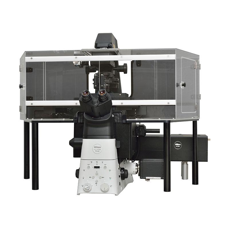 Nikon N-SIM S Mikroskop för bilder med super-resolution