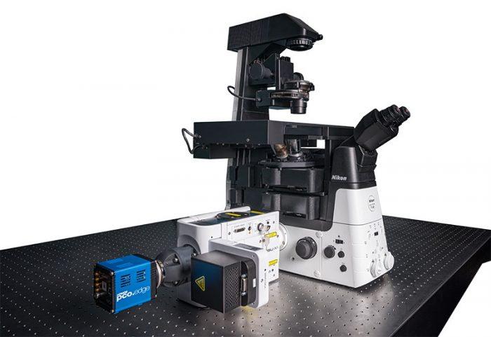 Konfokal mikroskop Nikon CSU-X1