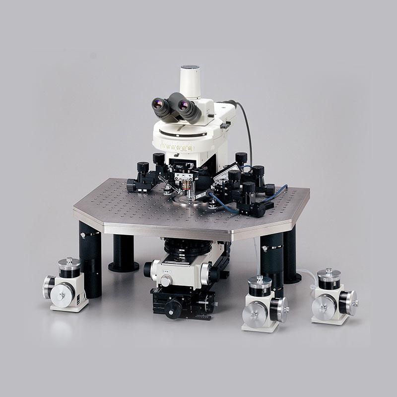 Rättvänt mikroskop Nikon Eclipse FN1