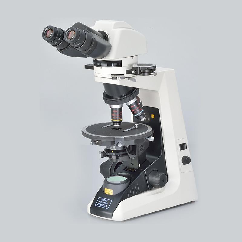 Polarisation mikroskop Nikon Eclipse E200 Pol
