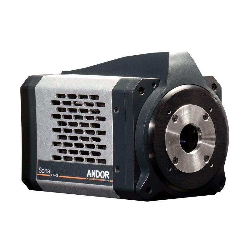 Mikroskop-kamera Andor Sona-serie för mikroskopering av levande celler