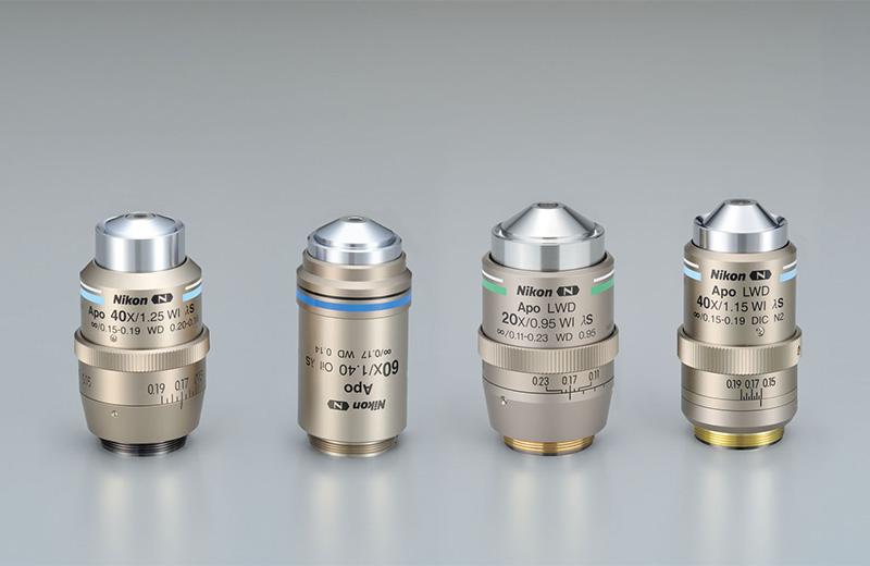 Mikroskopi optik Nikon CFI60 Plan Apokromat Lambda S-serien